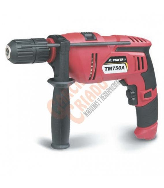 Taladro percutor 750W Stayer TM750AK