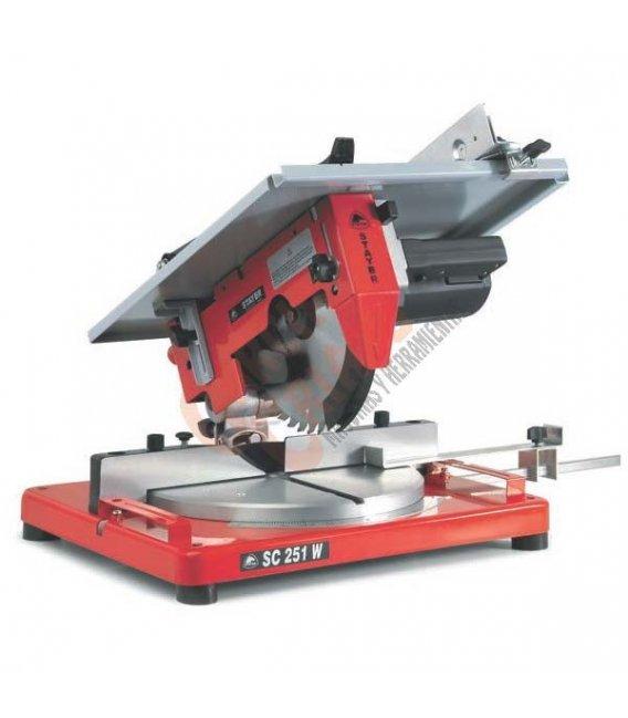 Ingleteadora con sierra de mesa 1500W Stayer SC251W
