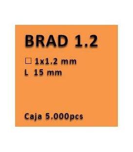Clavo con cabeza clavadora 1.2 - 15 PV1215
