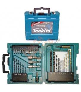 Set de accesorios Makita 34 piezas D36980