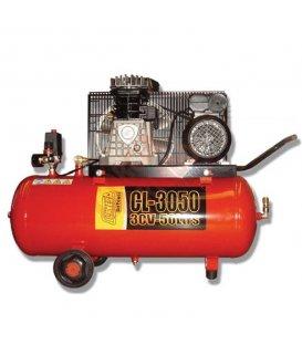 Compresor de correas 3cv y 50lt Clavesa CL3050