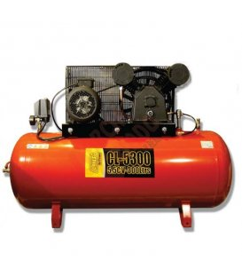 Compresor de correas 5,5cv y 270lt Clavesa CL5300