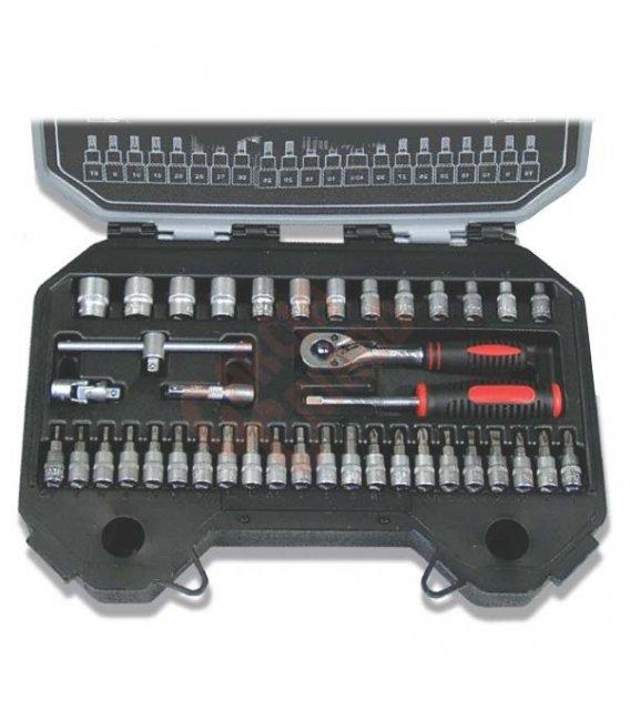 Juego llaves 1/2 25 piezas B25M