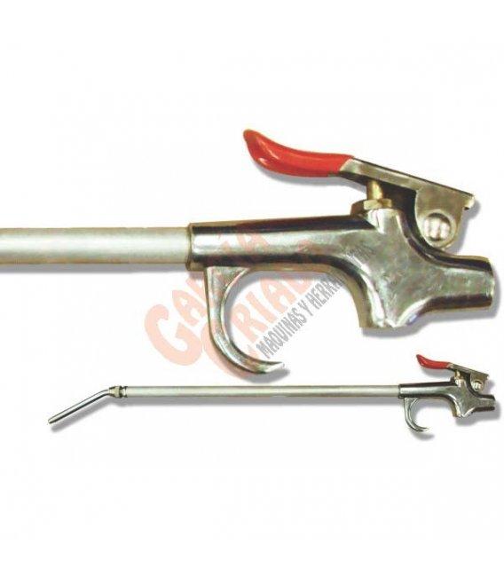 Pistola de soplado boquilla extensible AIREX