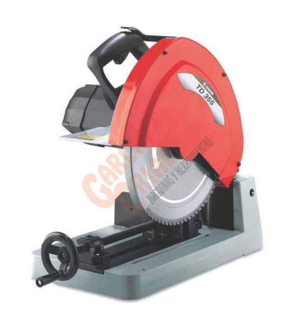 Tronzadora disco widia corte de hierro diametro disco 355mm Stayer TD355W
