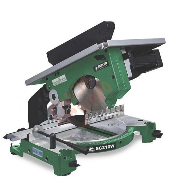 Ingleteadora diametro disco 210mm Stayer SC210W