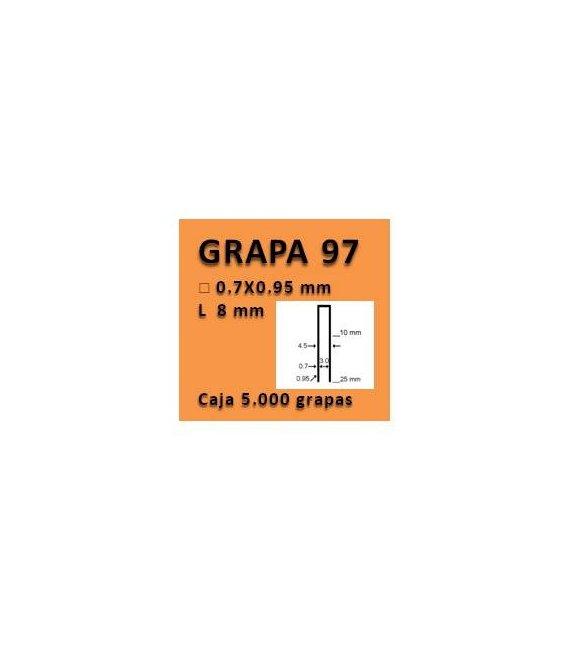 Grapa linea 97 - 8 GR009708