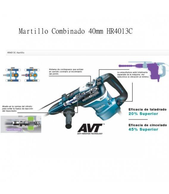 Martillo Combinado 40mm Makita HR4013C