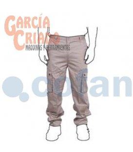 Pantalón de Trabajo Marrón Cofan 110012