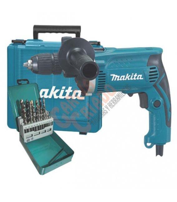 Taladro percutor 710W 13mm Makita HP1631KX2
