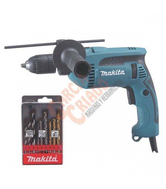 Taladro percutor 680W 13mm HP1641K1X