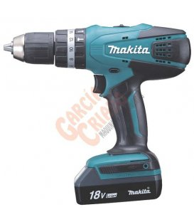 Taladro combinado 18V Litio-ion Makita HP457DWE