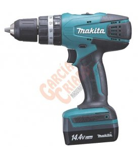 Taladro combinado 14,4V Litio-ion Makita HP347DWE3
