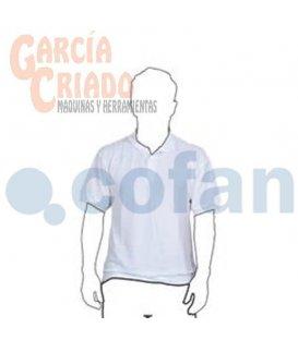 Polo Tejido de Punto Blanco Cofan 11003005