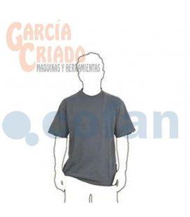 Camisetas Tejido de Punto Gris Cofan 11003008