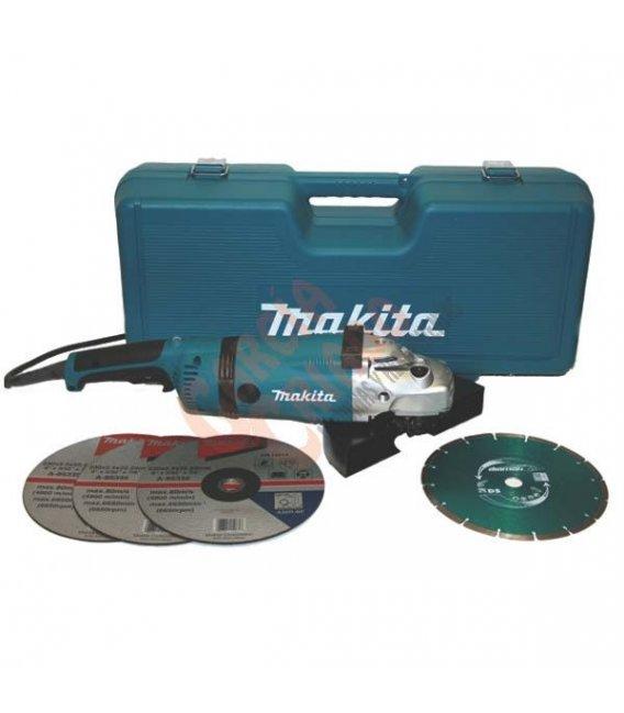 Amoladora 2400W 230mm Makita GA9030RKDX