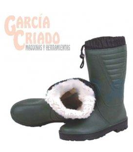 Bota de Agua PVC con Forro Polar Interior Cofan 120021
