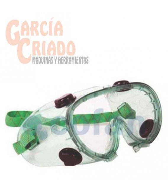 Gafas de protección Antiproyecciones Doble Protección Antivaho Cofan 11000020