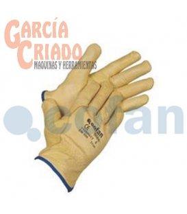 Guantes Piel Vacuno Extra Forro Interior Algodón 12 pares Cofan 11000077