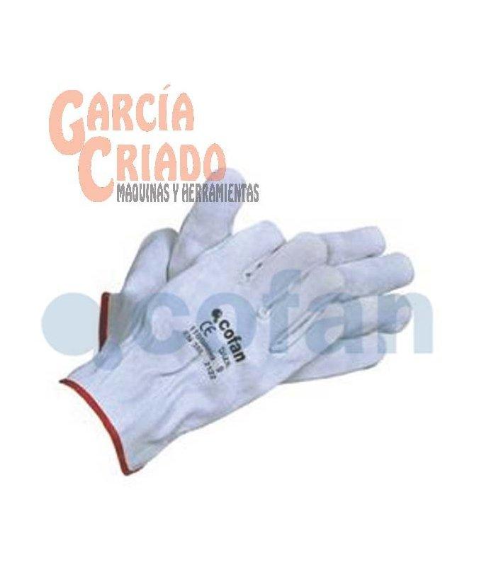 Guantes de piel serraje gris 12 pares cofan 11000099 for Guantes de piel madrid