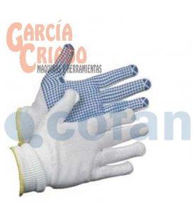 Guantes de Nylon Con Puntos de PVC 12 pares Cofan 11000079