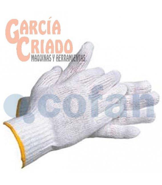 Guantes de Punto de Algodón con Puño Elástico 12 pares Cofan 11000047