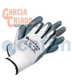 Guantes Soporte de Nylon Impregnados Gris-Blanco 12 pares Cofan 11000123