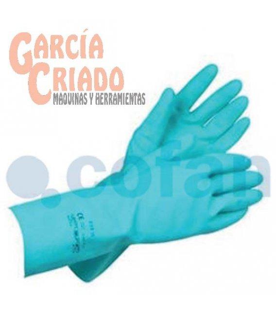 Guantes de Nitrilo Verde 12 pares Cofan 11000143