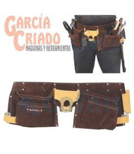 Portaherramientas super con cinturón 12 Bolsillos Cofan 09400350