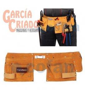 Portaherramientas super con cinturón 11 Bolsillos Cofan 09400351