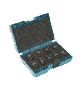 Estuche de llaves de vaso 9 piezas Makita D41517