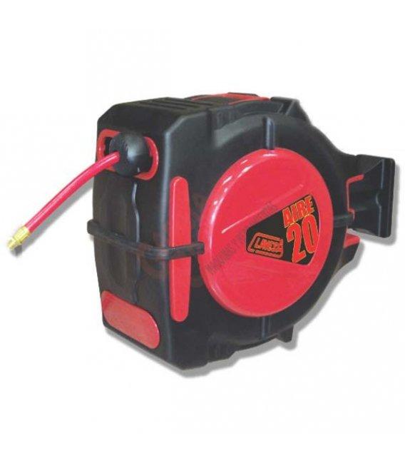 Soporte manguera auto-enrollable aire 20mts. ZA20