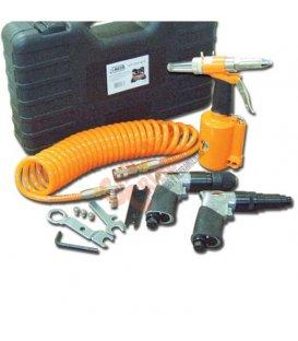 Kit remachadora taladro y atornillador Clavesa EP500