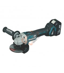 Miniamoladora 18V 4.0Ah Litio-ion 125mm Makita DGA504RMJ