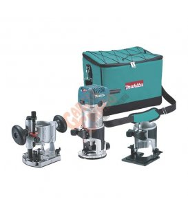Fresadora 6 y 8mm Makita RT0700CX2