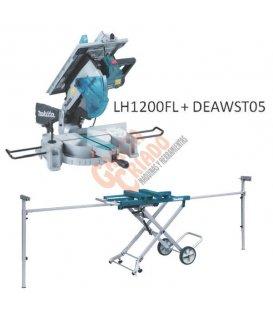 Pack Makita Ingletadora con sierra de mesa 305mm LH1200FL + Mesa ingletadora DEAWST05