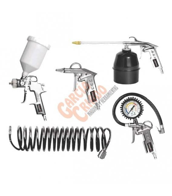 Kit compresor 5 piezas Werku WK500080