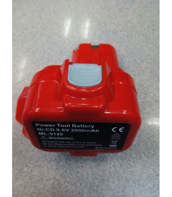 Batería NI-CD 9,6V 2.0Ah compatible Makita