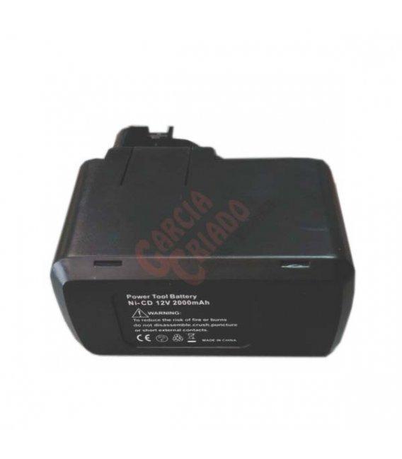 Batería Ni-Cd 12V 2AH compatible BOSCH