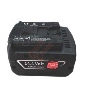 Batería litio 14,4V 3AH compatible BOSCH