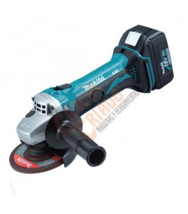 Miniamoladora 18V Litio-ion 115mm Makita DGA452RME