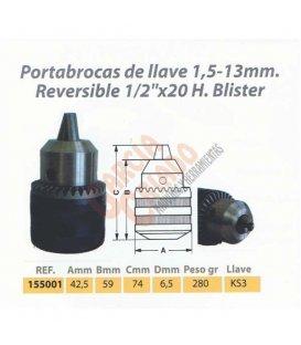 Portabrocas llave Wesser 155001