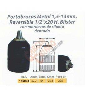 Portabrocas automático metal Wesser 155003