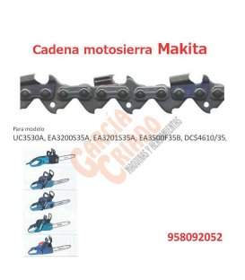 Cadena motosierra Makita 958092052