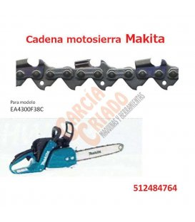 Cadena motosierra Makita 512484764