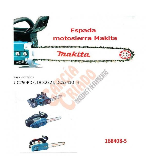 Espada motosierra Makita 168408-5