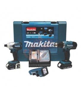 Kit combo Makita DK18016 (BDF453Z + BTD140 )