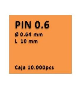 Clavo sin cabeza clavadora 0.6 - 10 PU0610