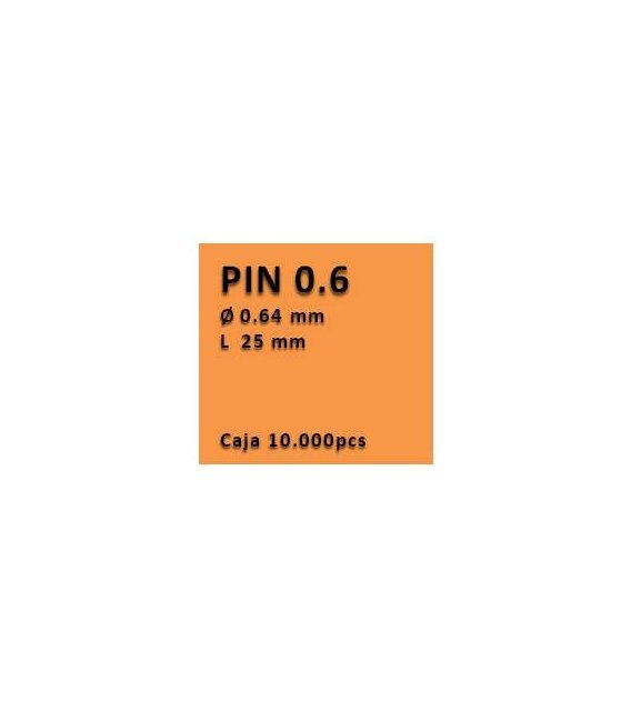 Clavo sin cabeza clavadora 0.6 - 25 PV0625
