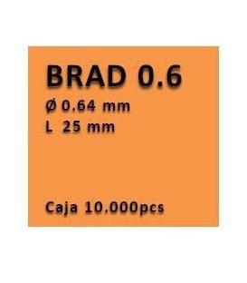 Clavo con cabeza clavadora 0.6 - 25 PV0625